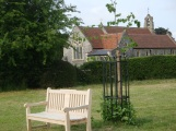 St James's Church Bix & Diamond Jubilee commemorative seat